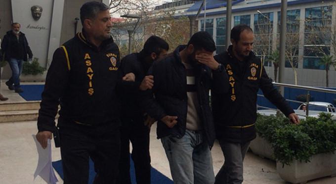 Bursa'da takside kabus olmuşlardı