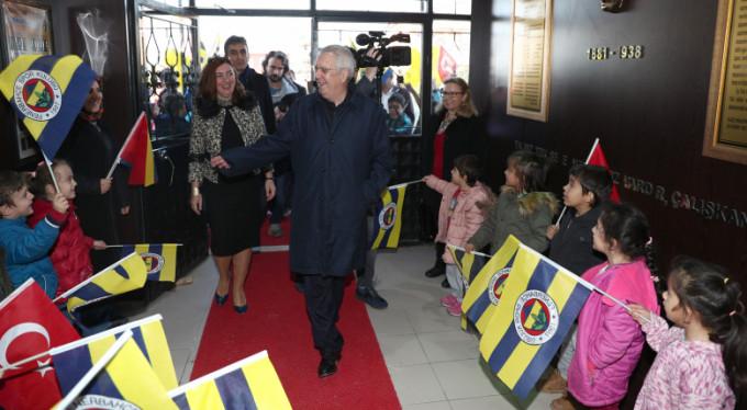 Aziz Yıldırım Bursa'da açılış yaptı