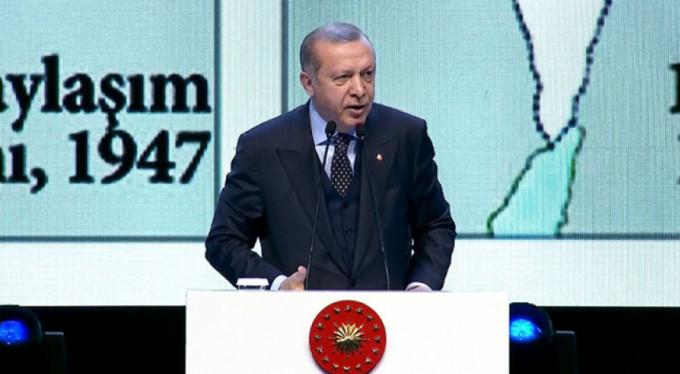 Erdoğan'dan ABD'nin Kudüs kararına sert tepki