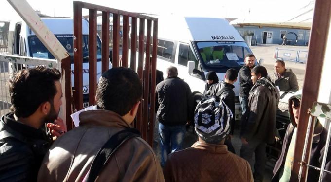 Suriyeliler memleketlerine gidiyor!