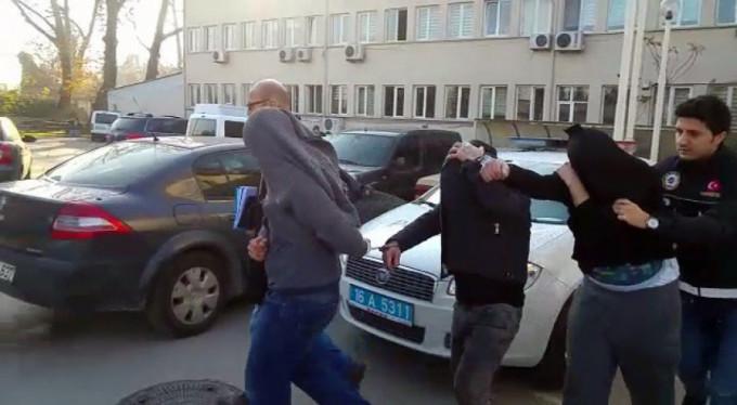 Bursa'da baskın var! 18 gözaltı