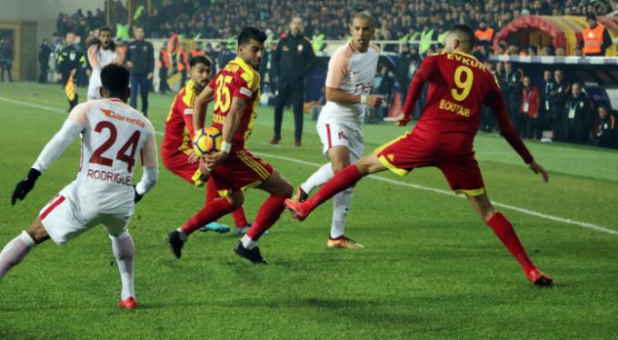 Galatasaray'a Malatya şoku: 2-1
