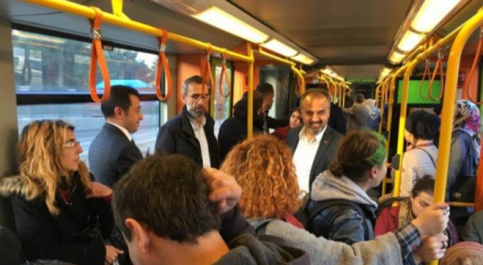 Başkan Aktaş Bursalılara soruyor: Bursaray'dan memnun musunuz?