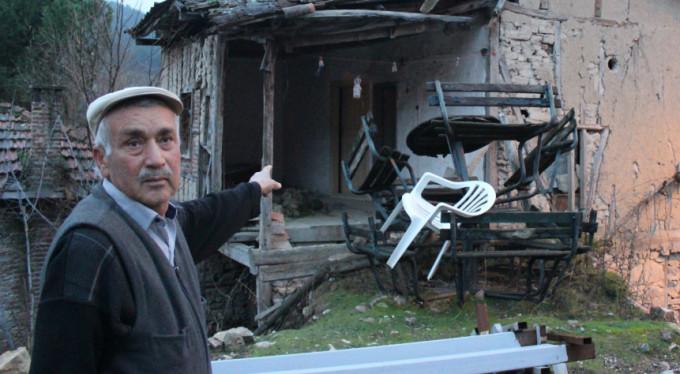 Bursa'da o köye büyük şok! Boşu boşuna göç ettiler..