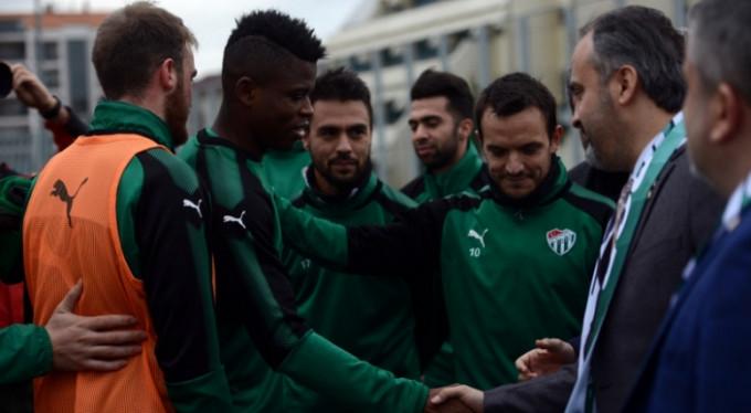 Başkan Aktaş'tan Bursaspor'a ziyaret