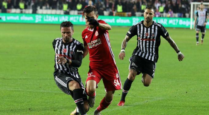Kartal Sivas'ta kayıp: 2-1