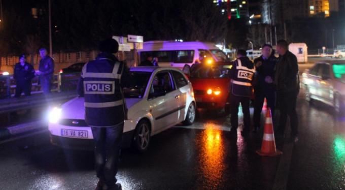 Bursa'da polis ve jandarma alarma geçti!