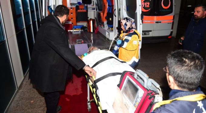 Bursa'da dehşet anları! Zemine çakıldı, kalbi durdu...