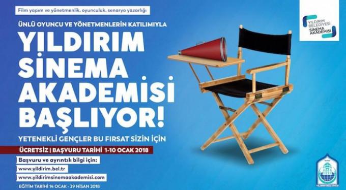 Yıldırım Sinema Akademisi başlıyor!