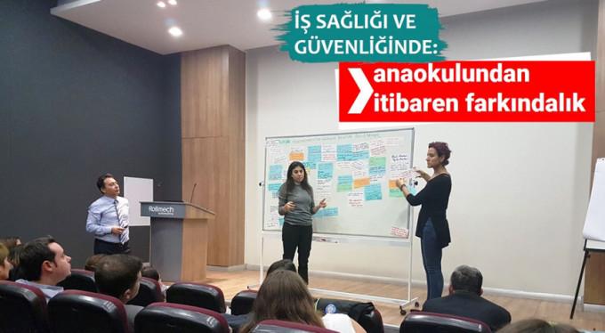 Bursa'da anaokulundan itibaren farkındalık!