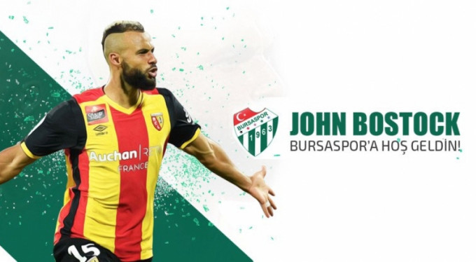 John Bostock resmen Bursaspor'da!