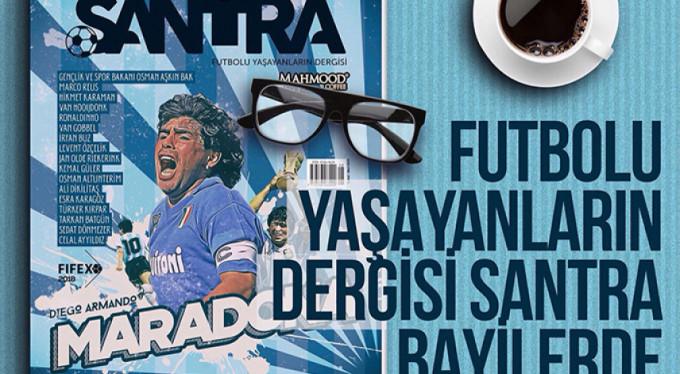 Santra Dergisi çıktı!