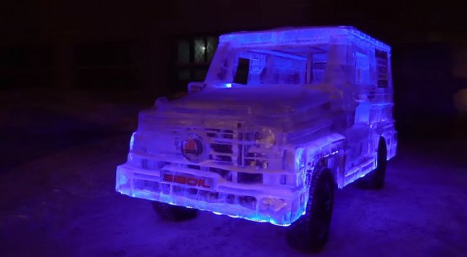 Buzdan Mercedes-Benz!