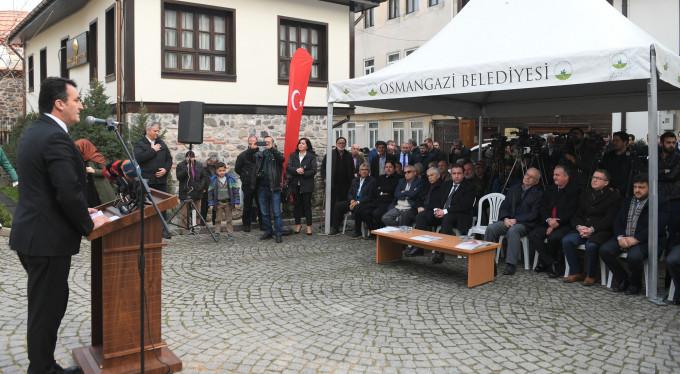 Osmangazi müzekente dönüşüyor