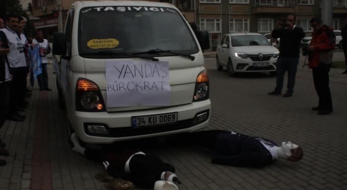 Bursa'da şoke eden görüntüler!