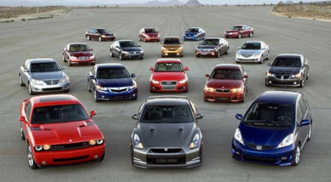 Otomobilde en çok bu rengi tercih ettik!