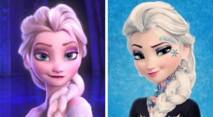 Disney prensesleri modern dünyaya uyarlandı