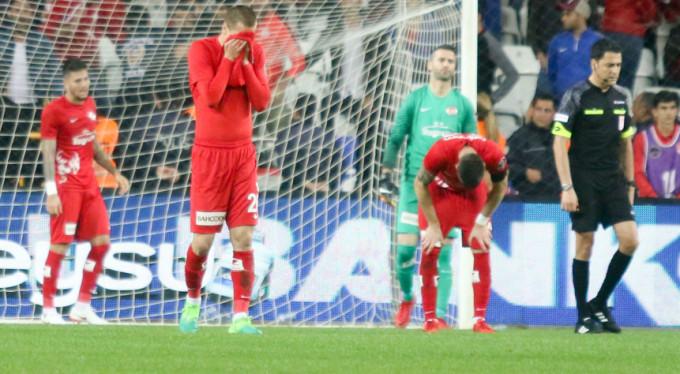 Antalyaspor'a Sivas darbesi! 1-4