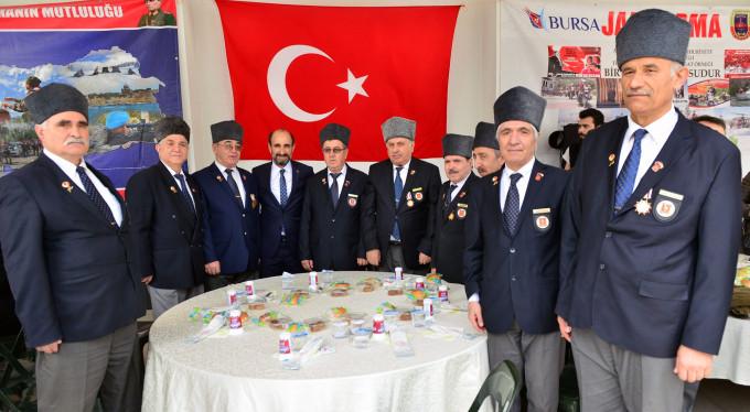 Bursa'da şehit yakınlarına vefa