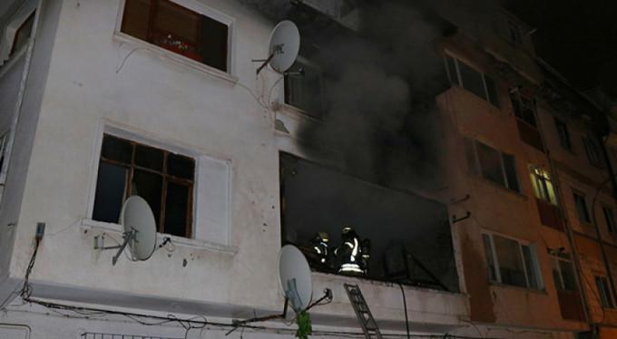 Gözüne biber gazı sıktı diye evini yaktı!