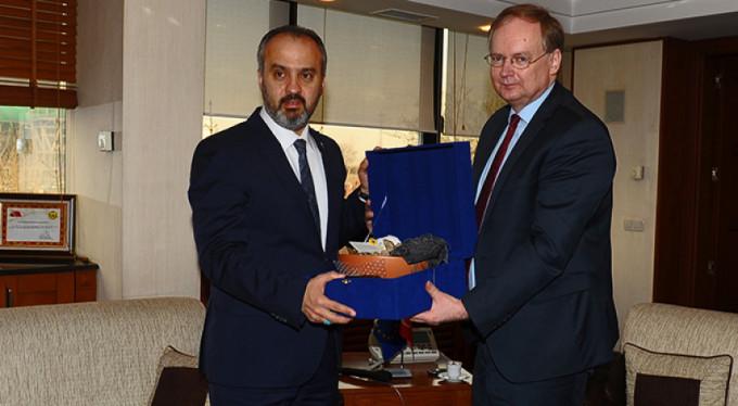 AB Türkiye Delegasyonu Başkanı Berger Bursa'da