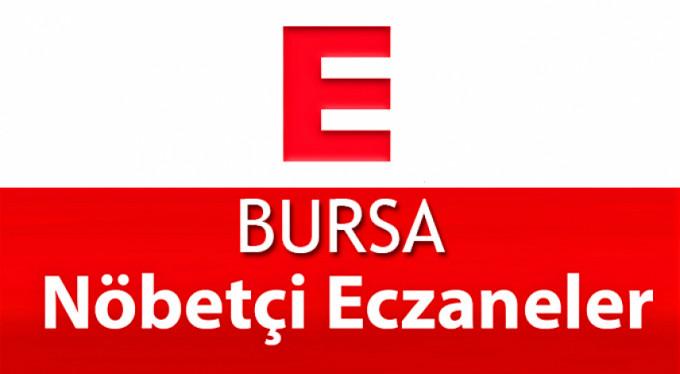 Bursa'daki nöbetçi eczaneler
