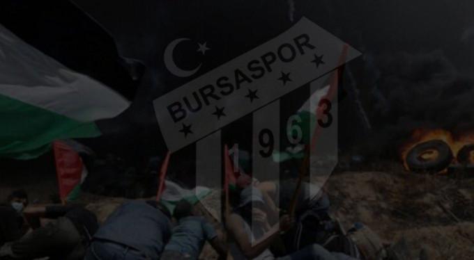 Bursaspor'dan katliama tepki!
