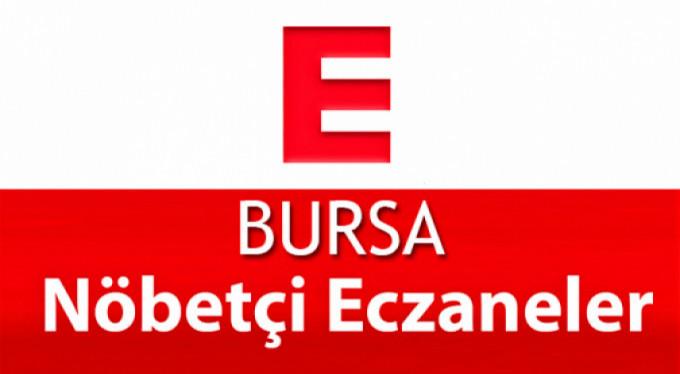Bursa'daki nöbetçi eczaneler (12 Haziran 2018)