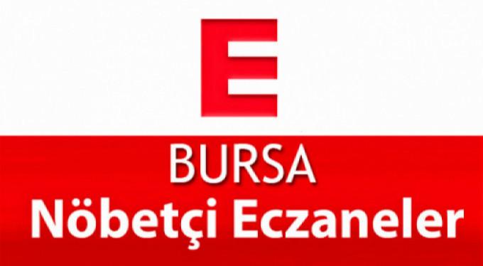 Bursa'daki nöbetçi eczaneler (13 Haziran 2018)