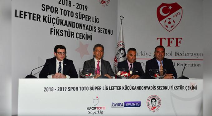 Süper Lig'de yeni sezon fikstürü belli oldu