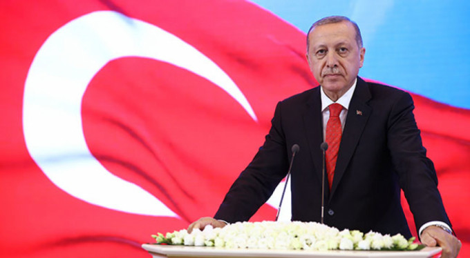 """Cumhurbaşkanı Erdoğan: """"Dolar bizim yollarımızı kesmez. Yerli parayla bunların cevabını verelim"""""""