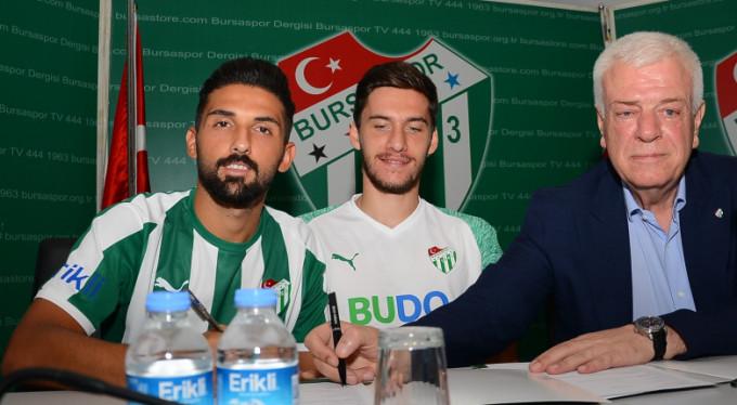 Bursaspor'da Umut Meraş sevinci!