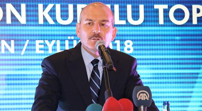 Bakan Soylu: 'Zehir ticareti PKK eliyle yürütülüyor'