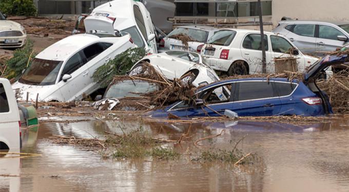 İspanya'daki sel felaketinde ölü sayısı 8'e yükseldi
