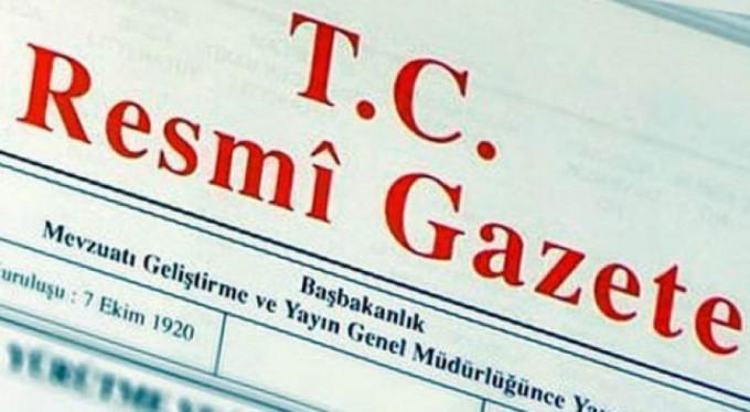 Cumhurbaşkanlığı kararnamesi Resmi Gazete'de yayımlandı