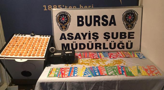 Bursa'da 20 bin liralık operasyon!