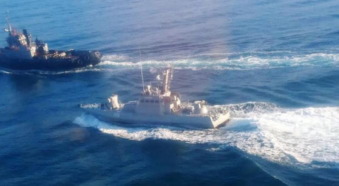 Ukrayna gemileri Kerç'ten ayrılıyor
