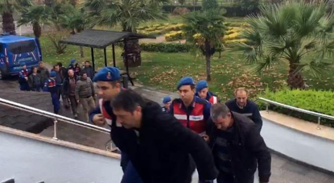 Bursa'da suçüstü yakalandılar!