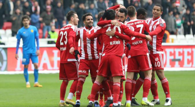 Sivasspor şov yaptı: 4-0