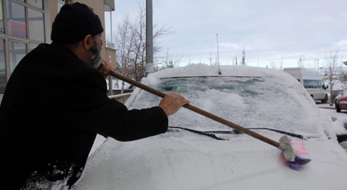 Meteorolojiden buzlanma ve don uyarısı!