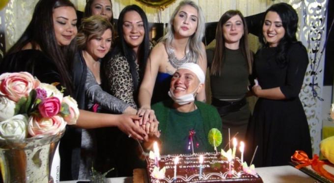 Doğum gününde kanser olduğunu öğrendi