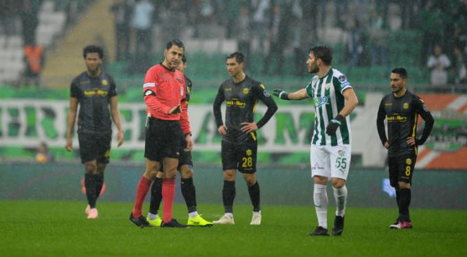 Bursaspor 'VAR'a 2 puan kaybetti!