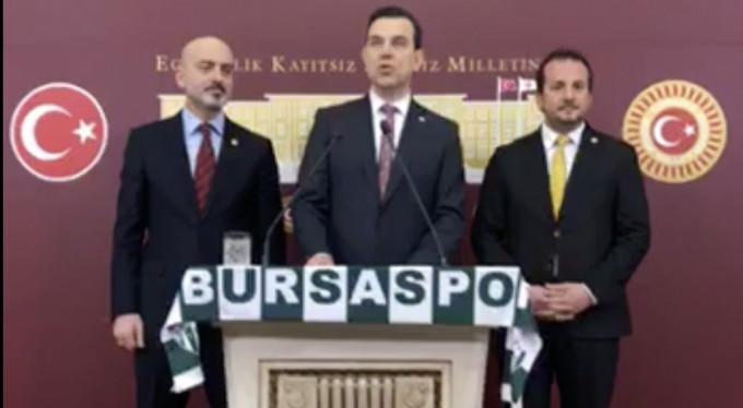 Bursaspor'un 'VAR' mağduriyeti Meclis'te!