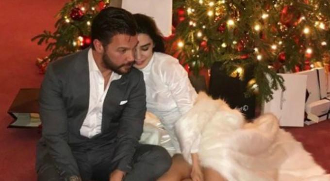 Sinan Akçıl, Burcu Kıratlı'yla evlendi