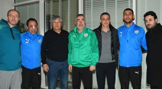 Bursaspor'a sürpriz ziyaret!