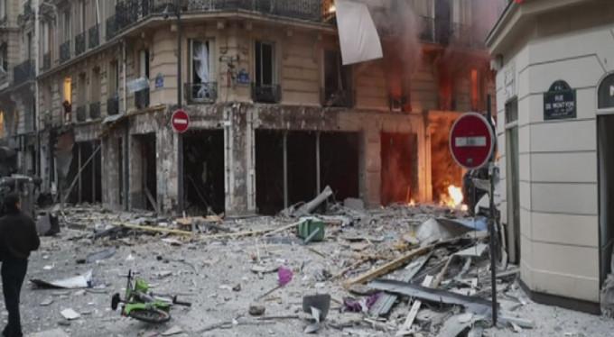 Paris'te büyük patlama!