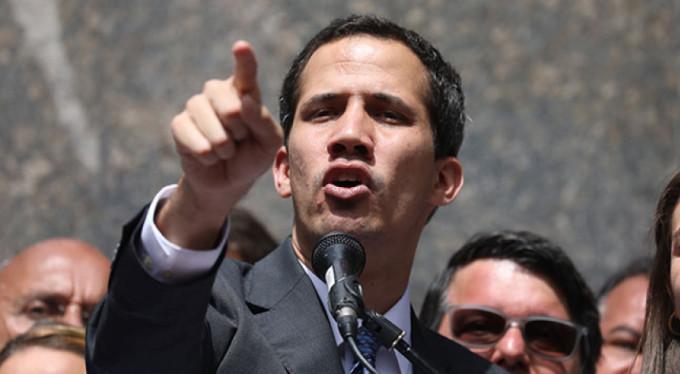 Muhalif lider Guaido: 'İnsani yardım koalisyonu başlıyor'