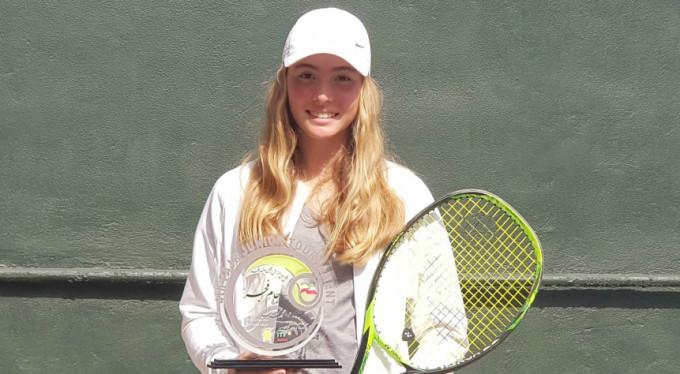 Bursalı genç tenisçiden büyük başarı