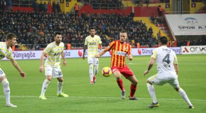 Fenerbahçe Kayseri'de kayıp!