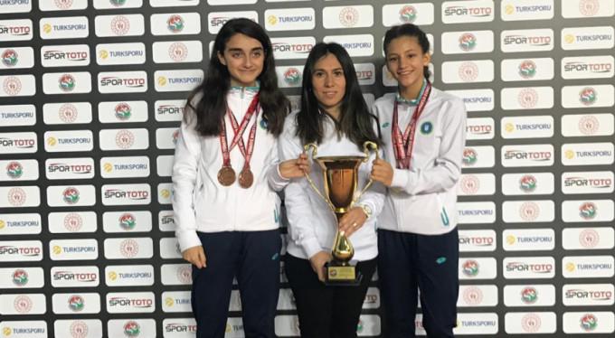 Bursalı atlet Türkiye şampiyonu oldu!